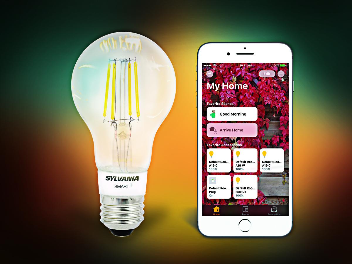Sylvania announces HomeKit-enabled Smart Filament Bulb