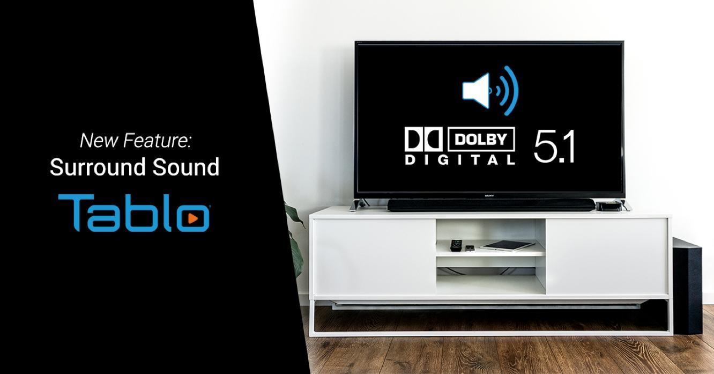 Tablo adds Dolby Digital 5.1 surround sound via firmware update 1