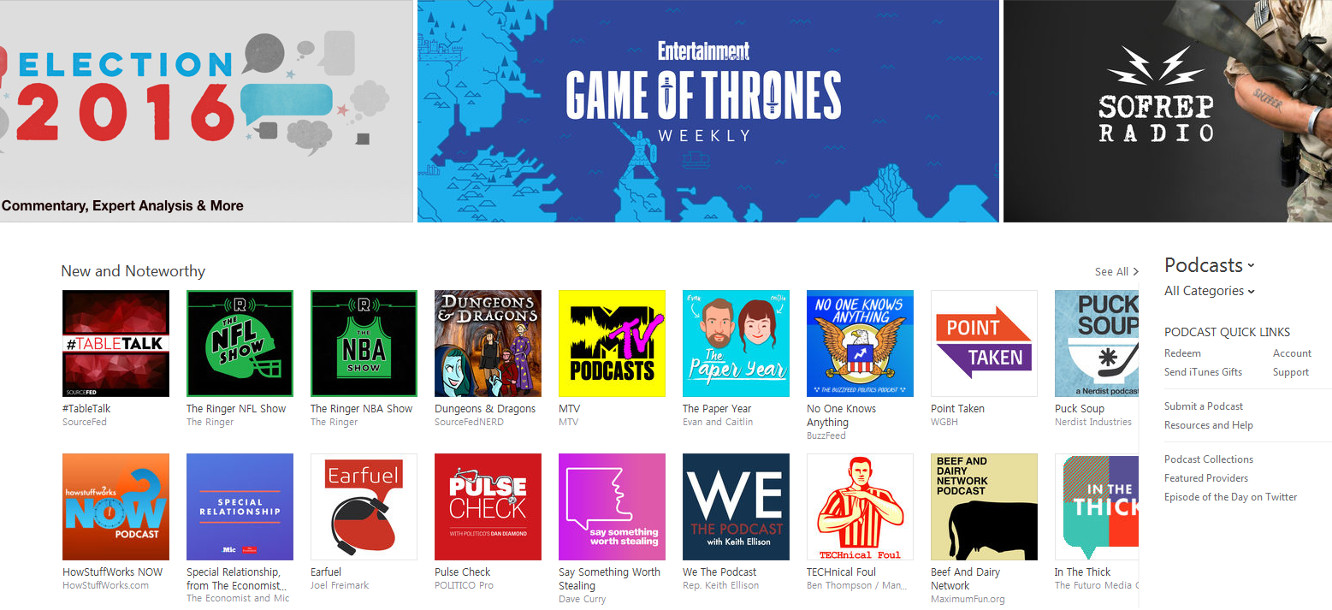 Podcasters voice serious complaints with Apple