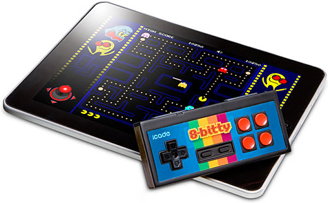 ThinkGeek intros iCade 8-bitty game controller 1