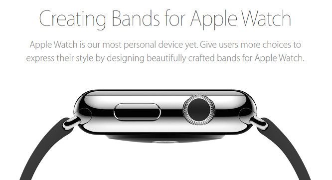 Apple releases band design guidelines for Apple Watch