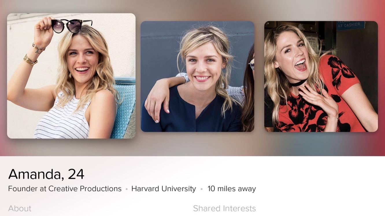 Scaled-back Tinder app lands on Apple TV