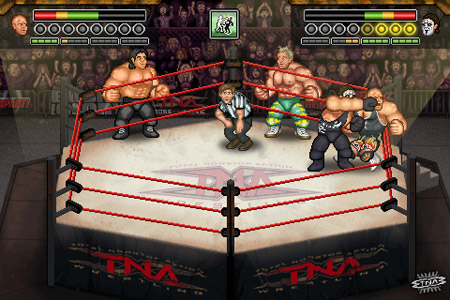 TNA Wrestling comes to iPhone, iPod touch