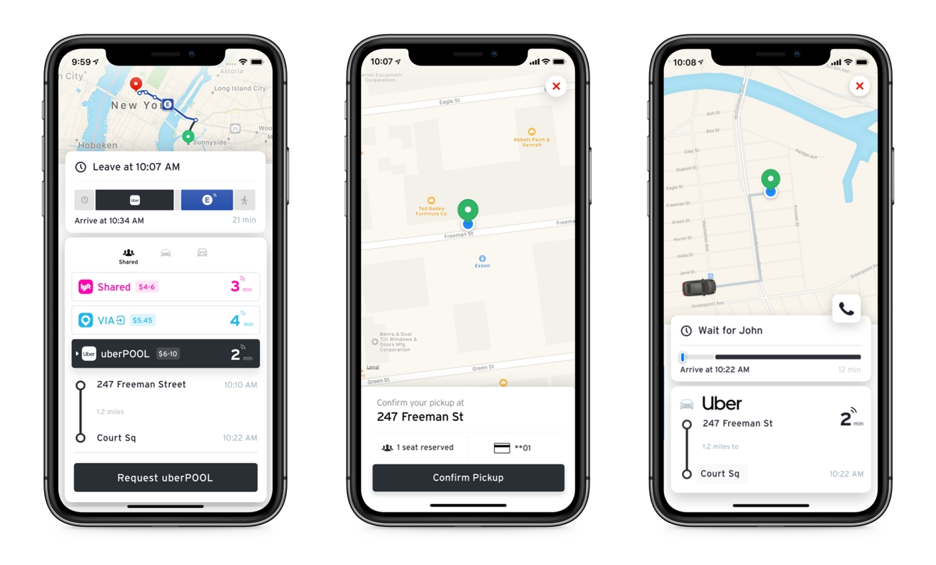 Transit for iOS now lets you combine public transit and ridehailing 1