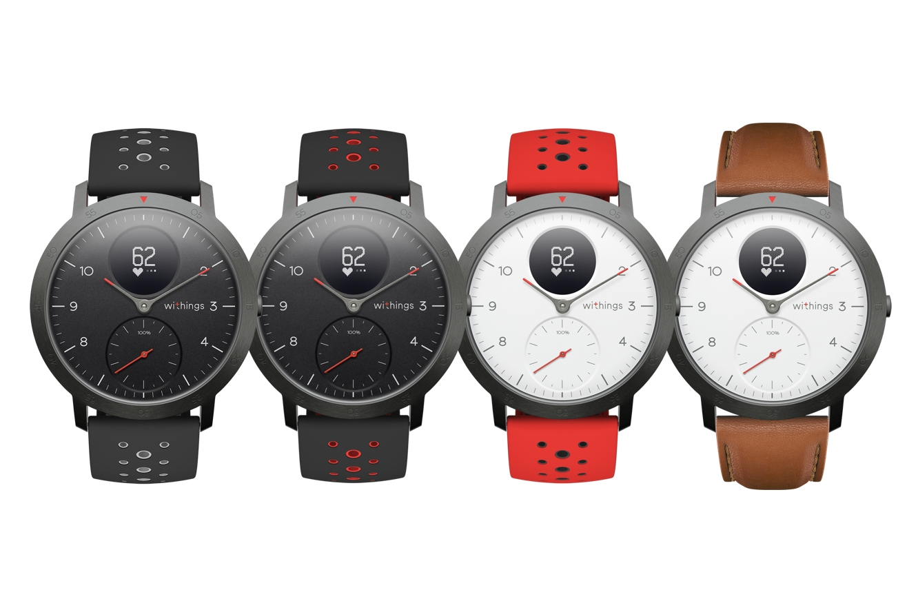 Withings makes its comeback with Steel HR Sport 1