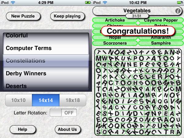 iPhone Gems: Fifteen Word Games, Reviewed 14
