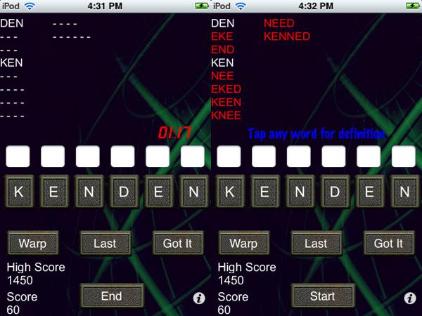iPhone Gems: Fifteen Word Games, Reviewed 17
