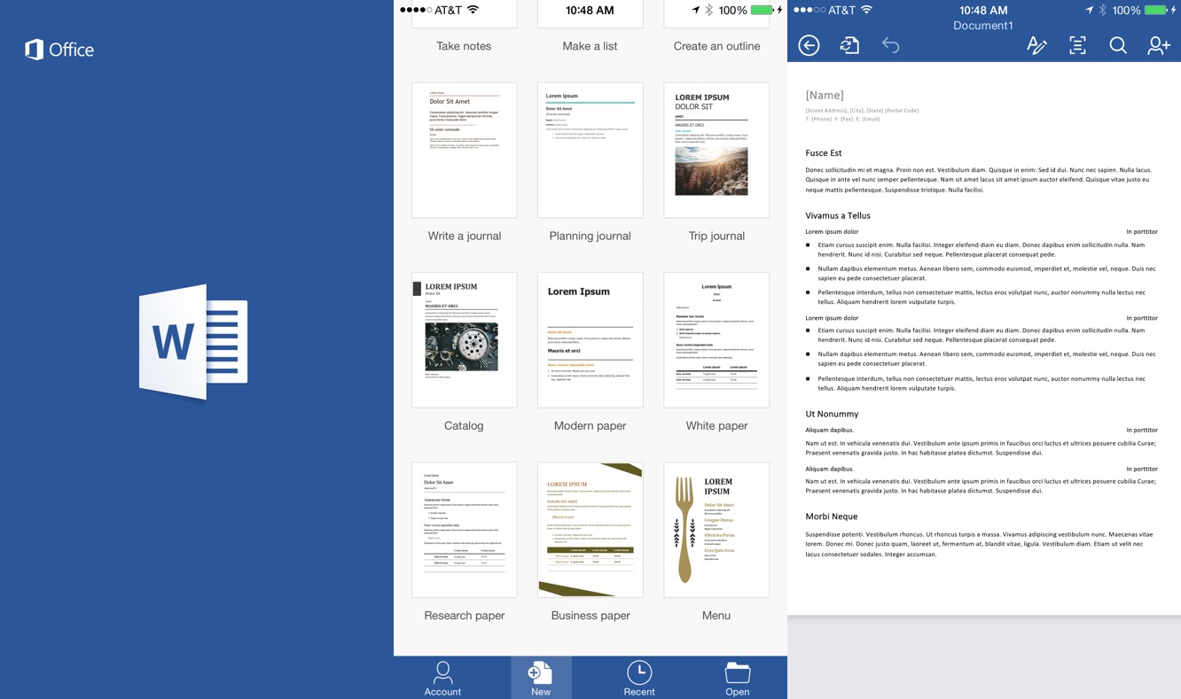 Microsoft Office apps gain iPhone support, free editing