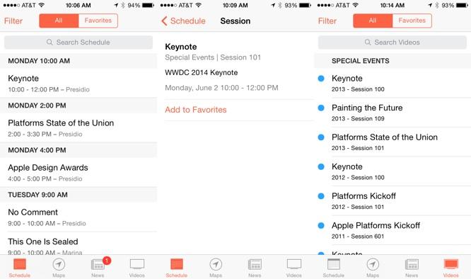 Apple WWDC app update reveals keynote set for June 2